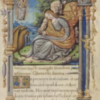 John writing on a scroll